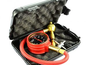 Tire Deflator With Gauge