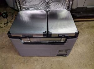 Dual Zone Fridge/Freezer 54L (39L/15L)