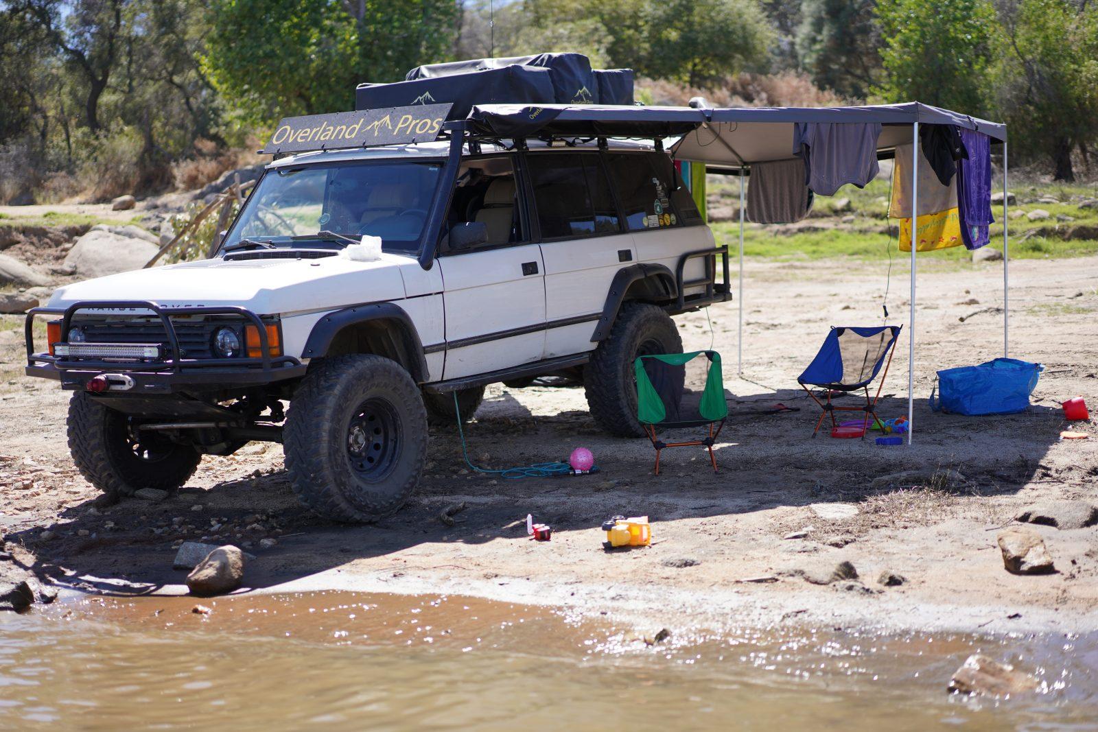 Wraptor 2500 270 Degree Vehicle Mounted Awning